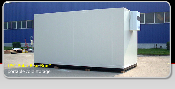 Universal Storage Containers   A Revolution In Portable Storage Containers    Portable Cold Storage USC Polar Box